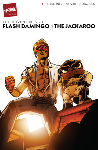 Cyclone Redux #1: The Adventures of Flash Damingo & The Jackaroo (Colour Cover Edition)